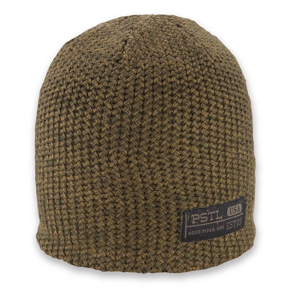 Men's Pistil Franco Chunky Knit Beanie in Tobacco