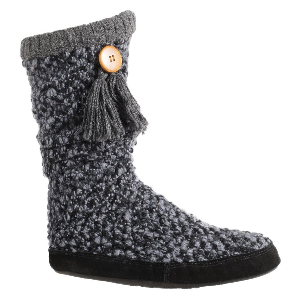 Acorn Jam Tassel Boot in Boysenberry Side Profile