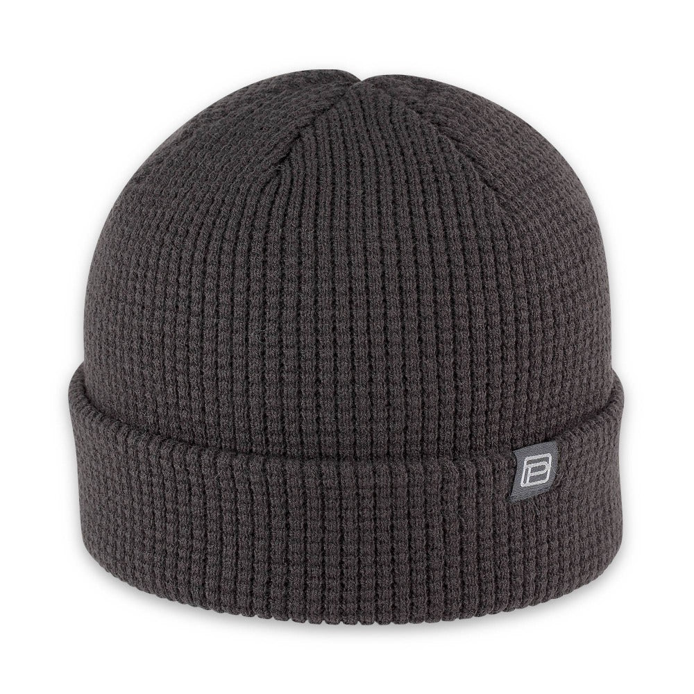 Men's Pistil Tinh Beanie with waffle knit in Black