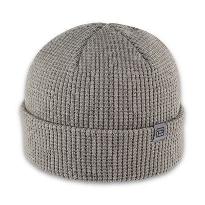Men's Pistil Tinh Beanie with waffle knit in Grey