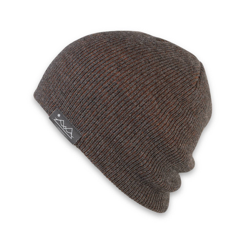 Men's Pistil Chico Slouch Knit Beanie in Rust