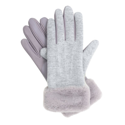 Isotoner Women's SmarTouch Media Pop Bunny Gloves