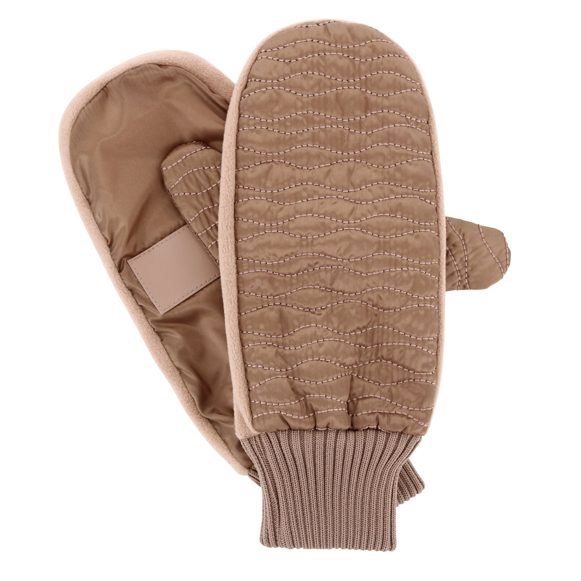 Isotoner Women's Sleekheat™ Wave Quilted Mitten with SmarTouch® and SmartDRI™