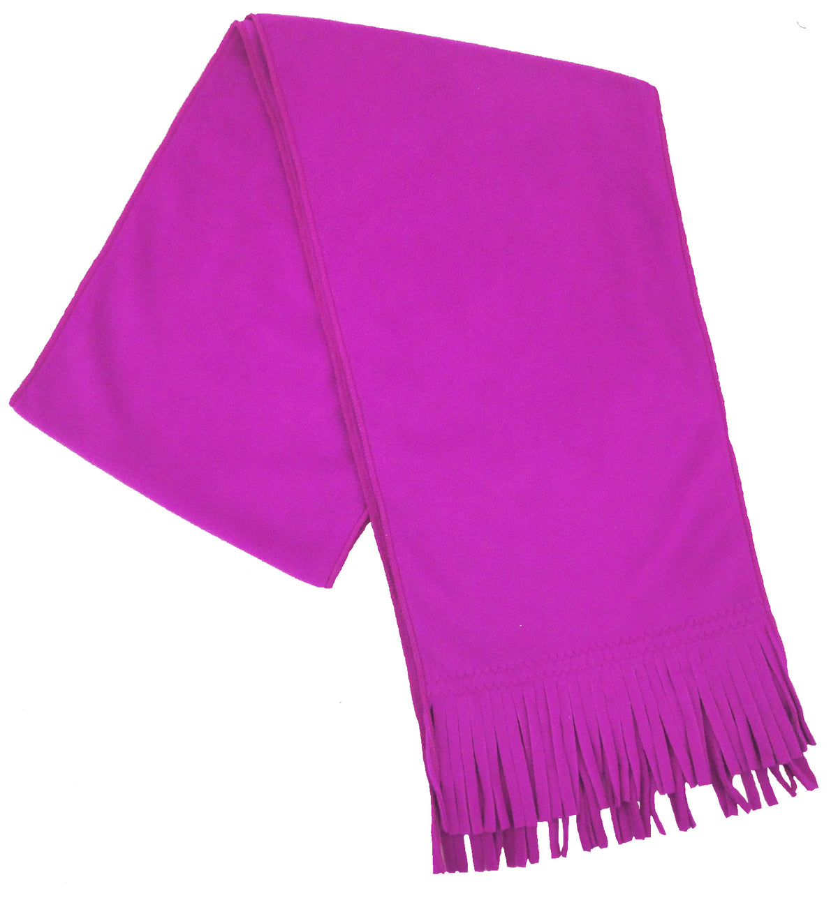 Isotoner Women's Stretch Fleece Scarf with Fringe