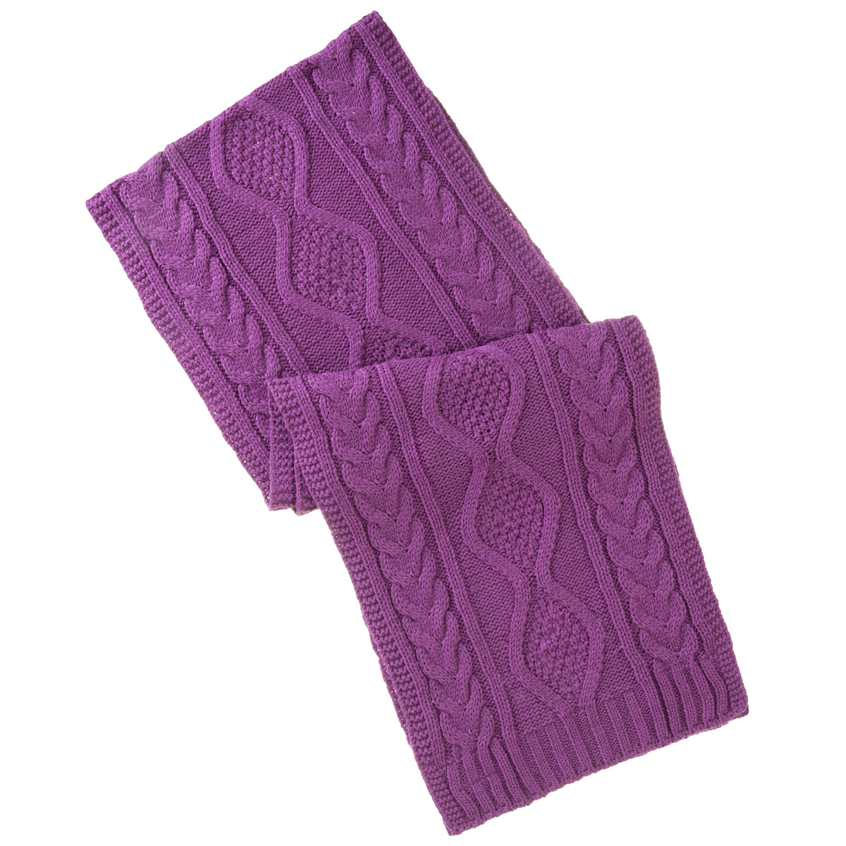 Isotoner Women's Cable Knit Scarf