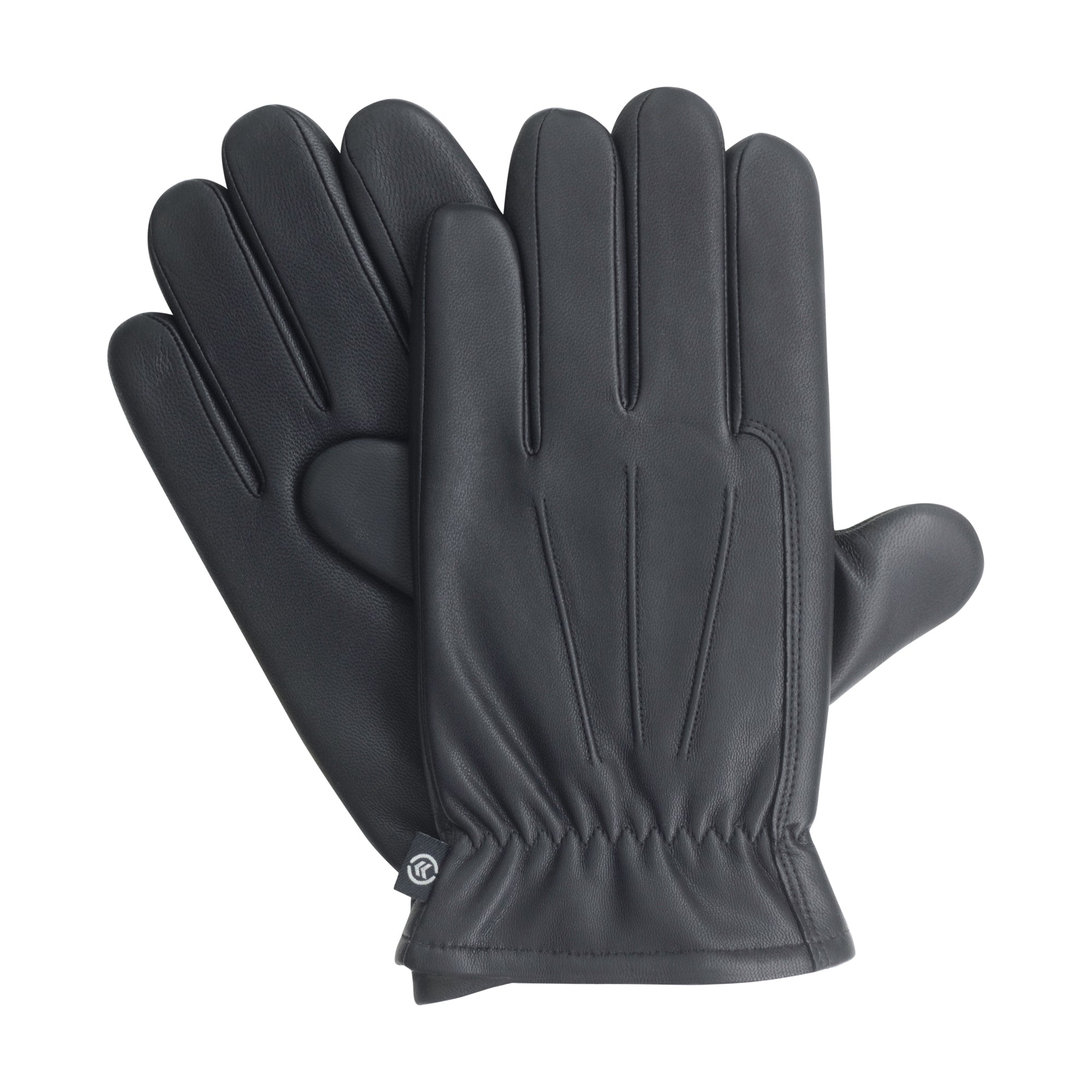 Isotoner Men's Classic Kidskin Leather Gloves