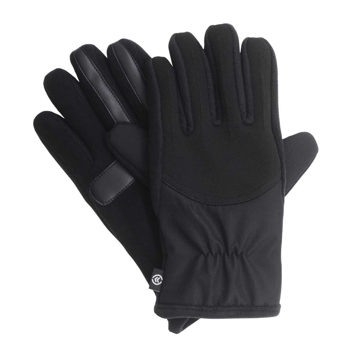 Isotoner Men's SmarTouch Tech Stretch Nylon Combo Gloves