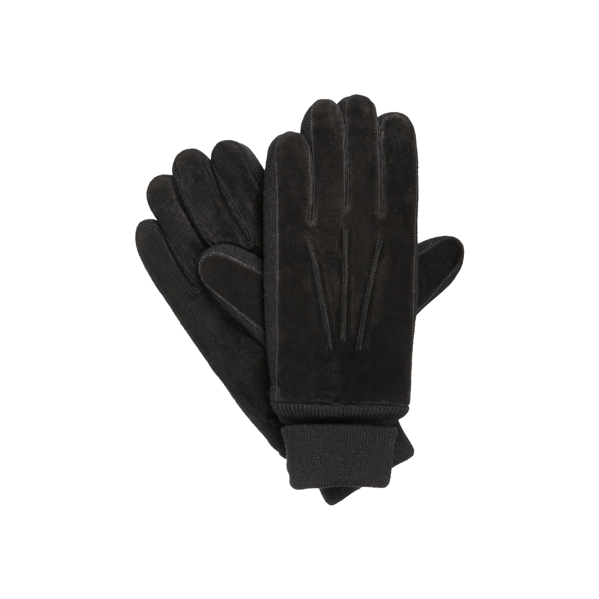 Isotoner Men's Suede Gloves - Thinsulate Lined