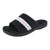 Isotoner Women's Microterry Open-Toe Slide Slippers With 360° Surround Comfort™ Memory Foam