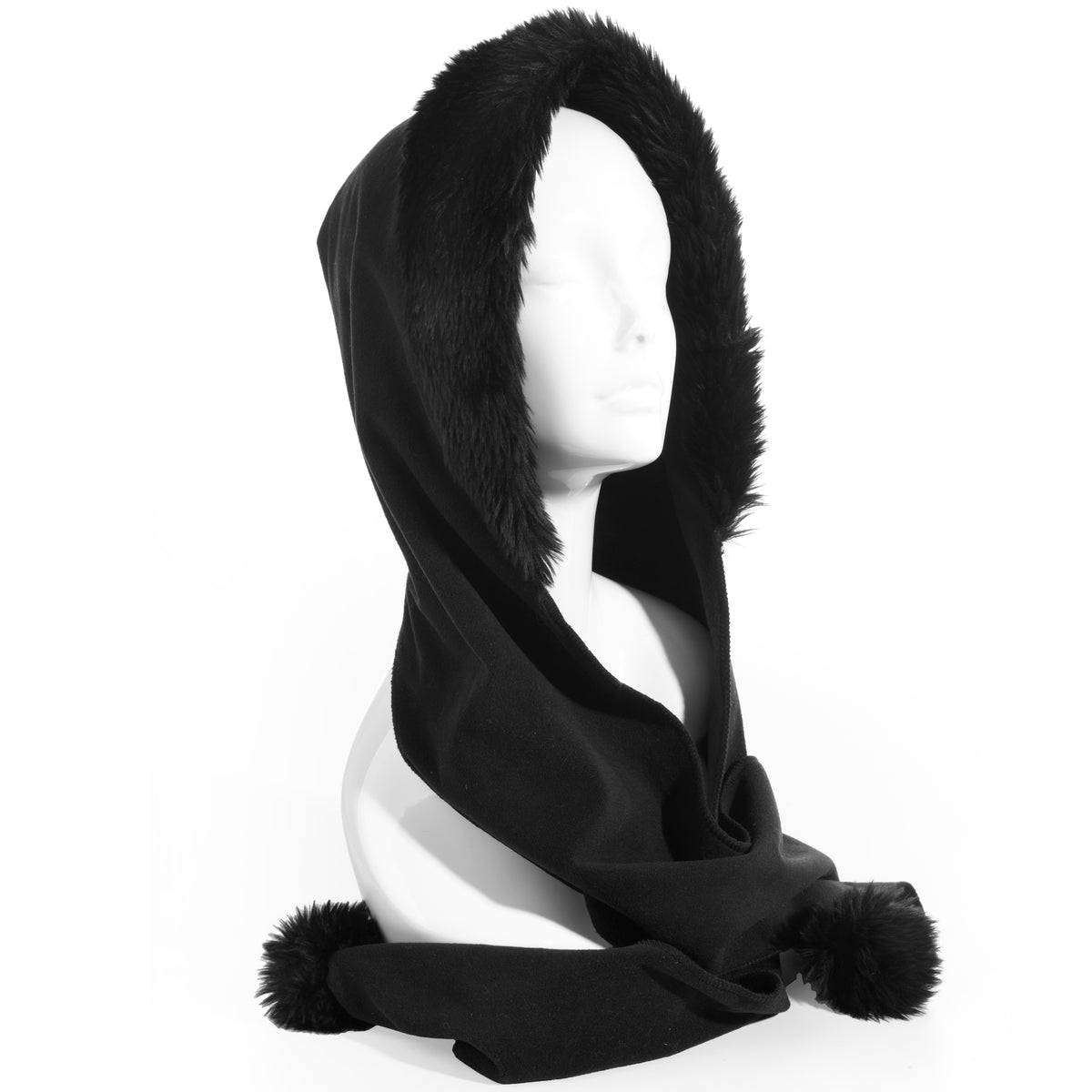Isotoner Stretch Fleece Hoodwrap for Women