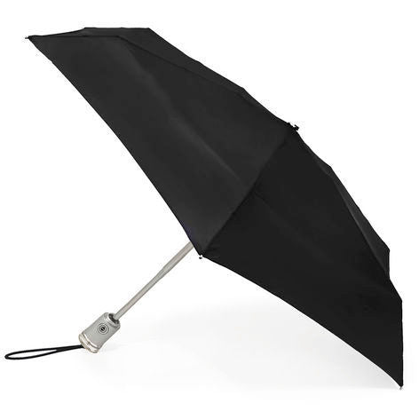totes Auto Open/Close Classic Compact Umbrella