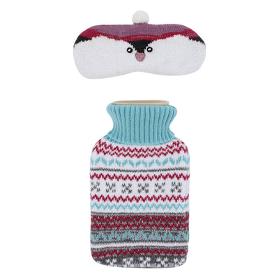 totes toasties™ Hot Water Bottle & Eye Mask