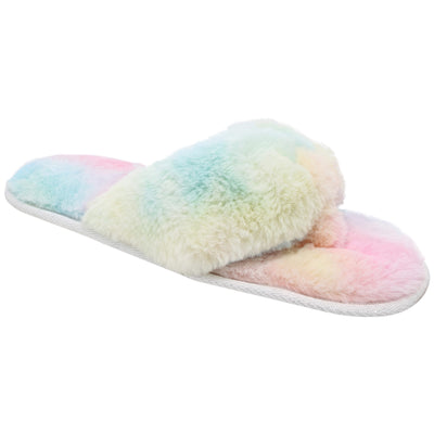 totes toasties™ Women's Tie Dye Plush Thong Slippers