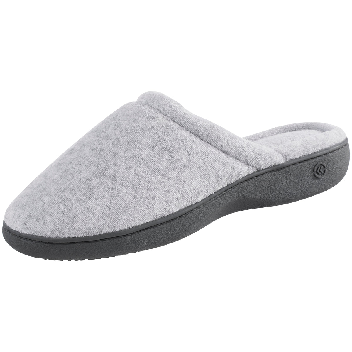 Isotoner Women's Terry ContourStep Clog Slippers