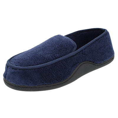Isotoner Men's Microterry Moccasin Slippers