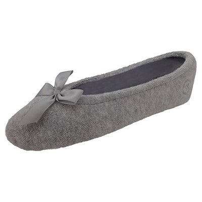 Isotoner Women's Stretch Terry Classic Ballerina Slippers