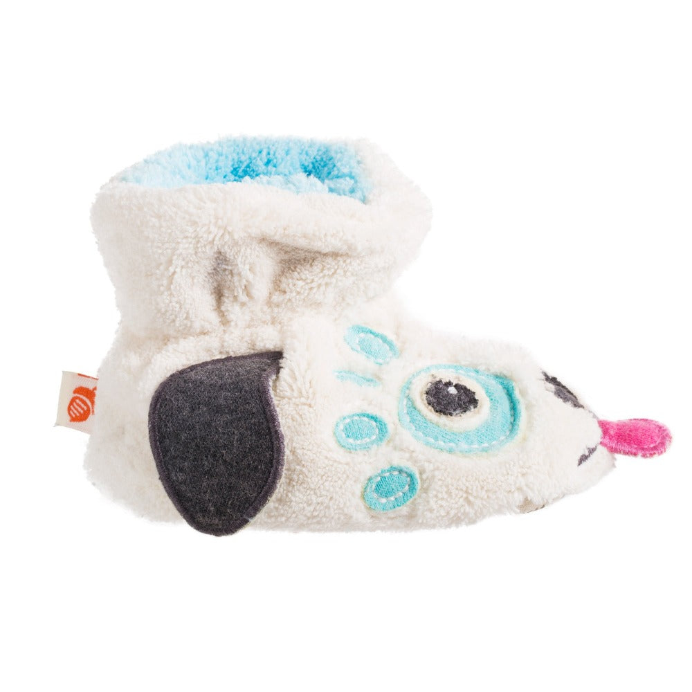Toddler's Critter Booties in Doggy Profile