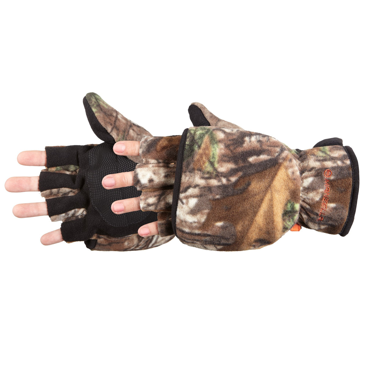 Men's Bow Hunter Convertible Hunting Gloves Pair Side Profile