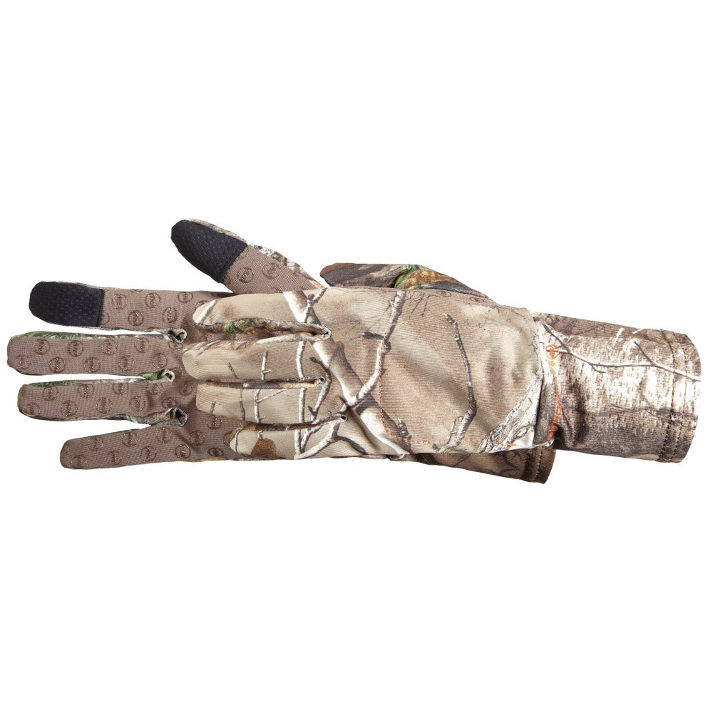 Men's Snake TouchTip Hunting Gloves Pair Side Profile