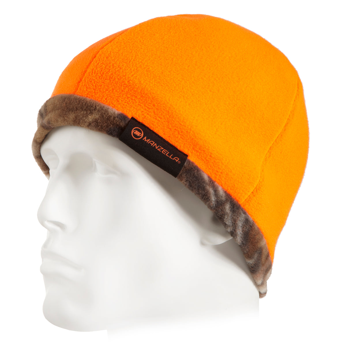 Manzella REVERSIBLE FLEECE BEANIE Hat for Men