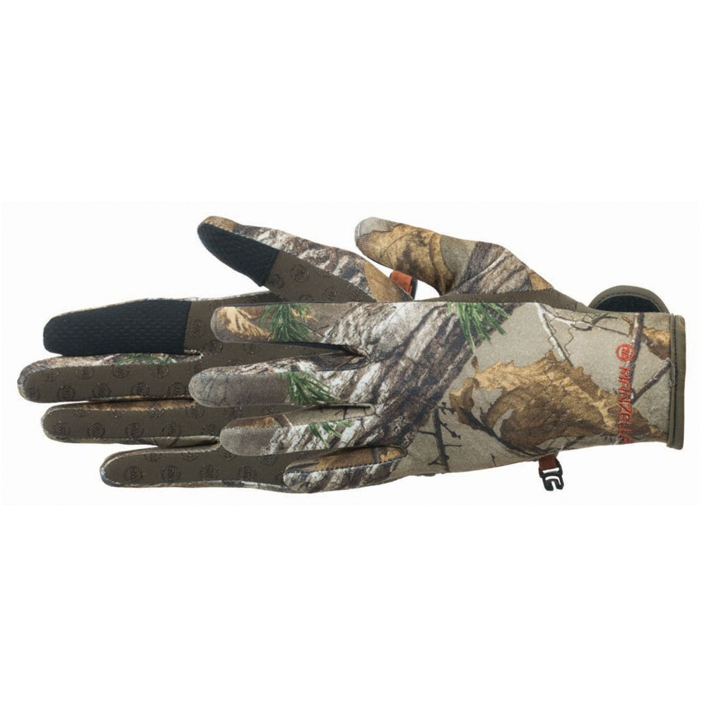Men's Bow Ranger Touchtip Gloves in Realtree Xtra Pair Side Profile