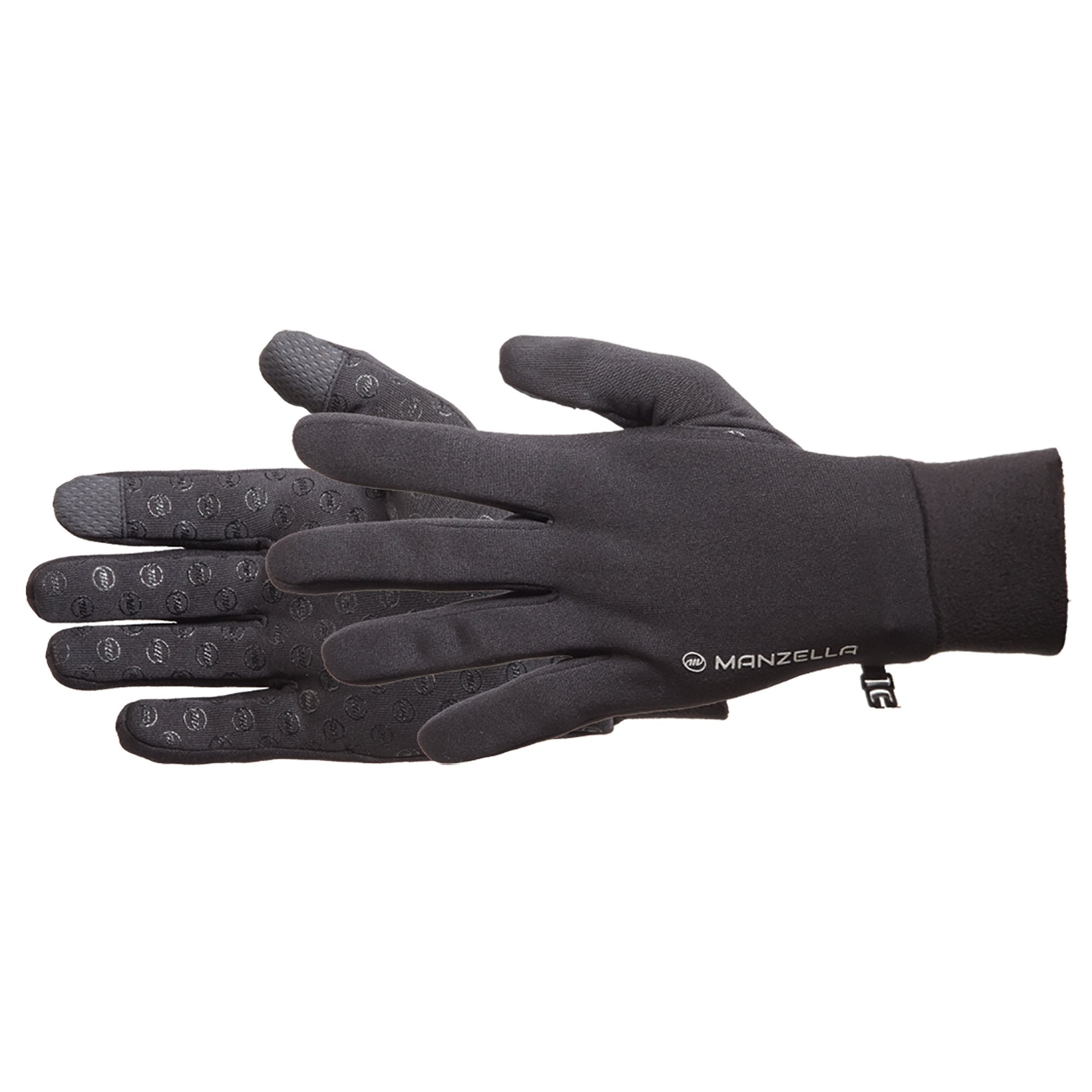 Men's Power Stretch Ultra Touchtip Gloves Pair Side Profile