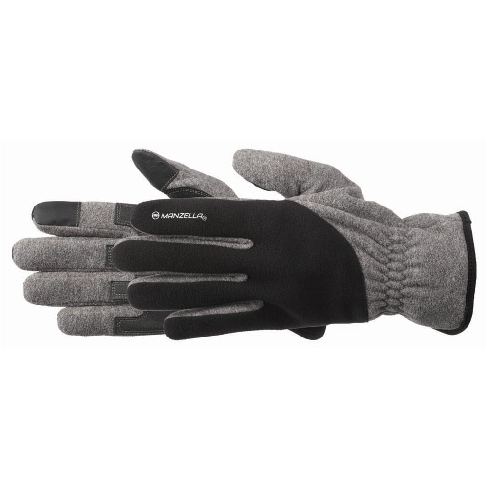 Men's Lakewood Work Gloves in Black Pair Side Profile