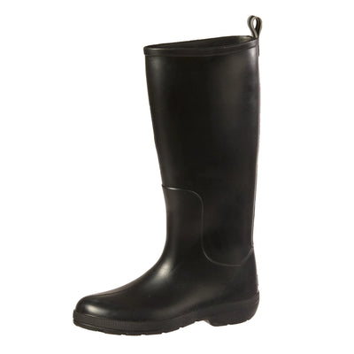 Cirrus™ Women's Claire Tall Rain Boots in Black Left Angled View