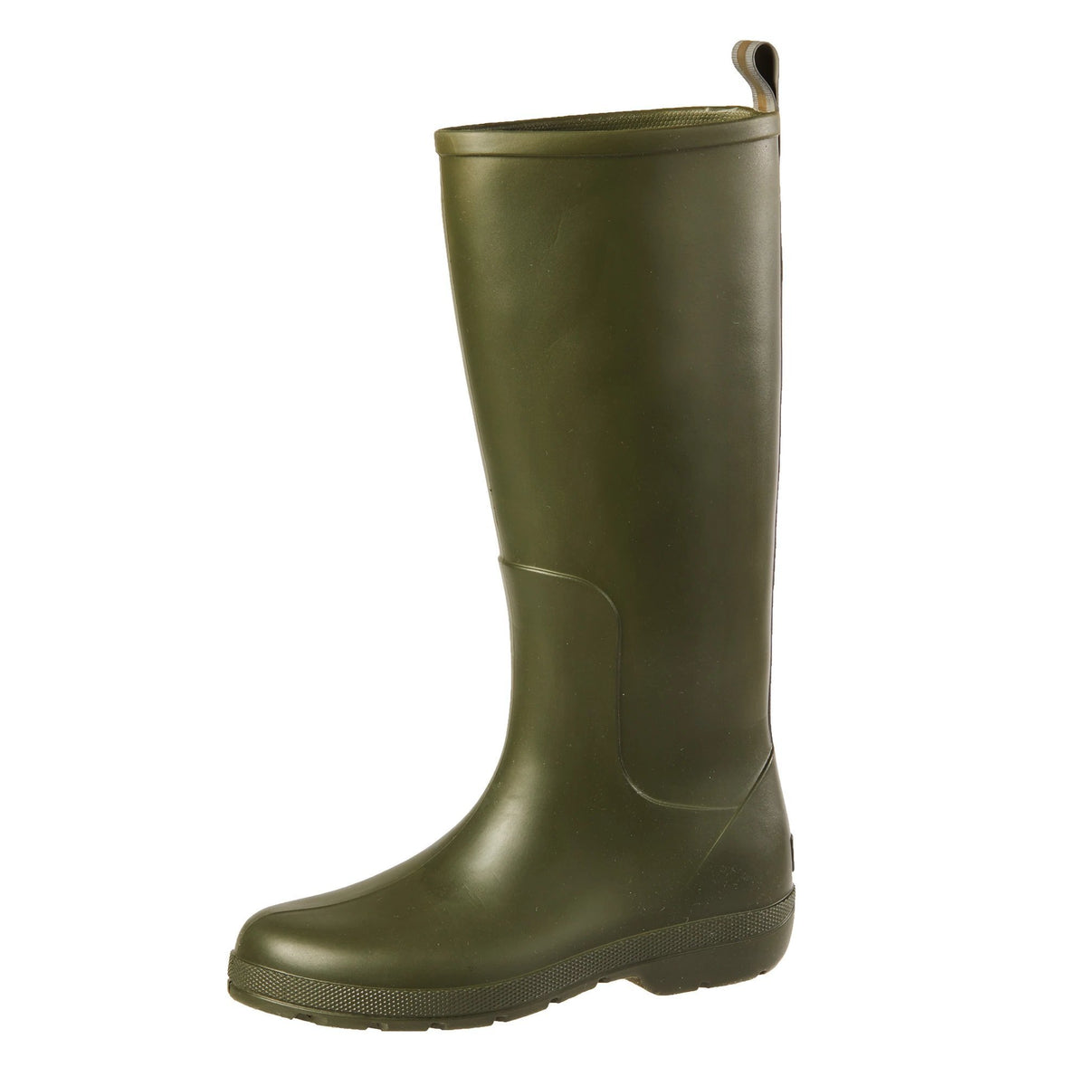 Cirrus™ Women's Claire Tall Rain Boots in Loden Left Angled View