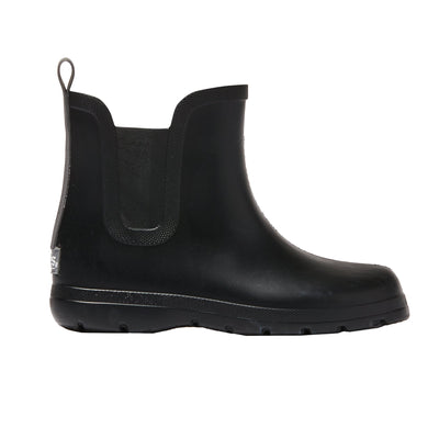 Cirrus™ Kid's Chelsea Ankle Rain Boot in Black Profile