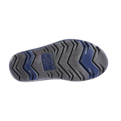 Cirrus™ Toddler's Charley Tall Rain Boot in Navy Blue Bottom Sole Tread