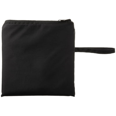 totes Lined Rain Poncho closed in pouch