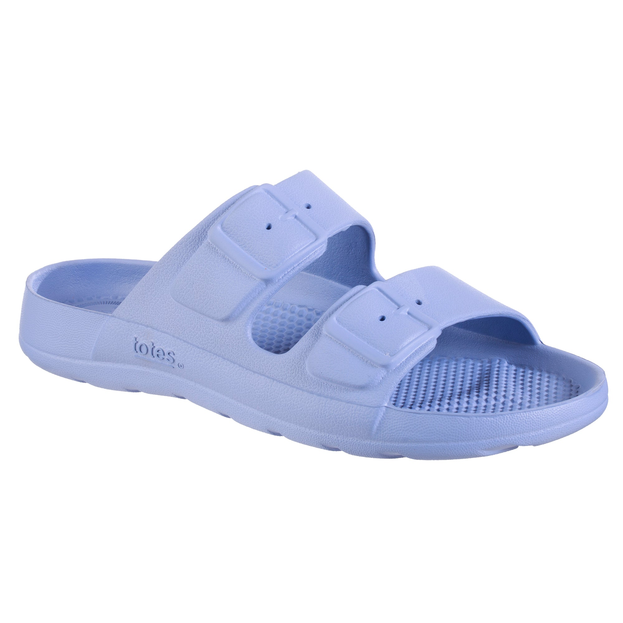 Totes Women's Sol Bounce Molded Buckle Slide