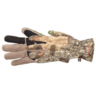 Men's Hunter Fleece Gloves in Mossy Oak Break-Up Infinity Side Profile