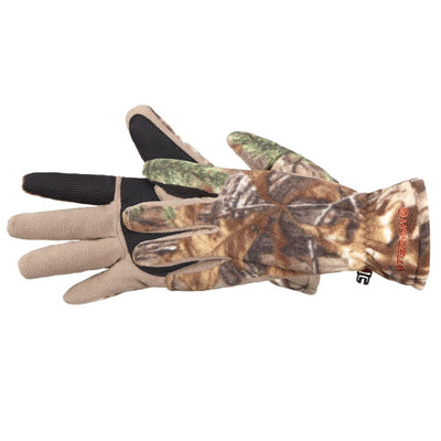 Men's Hunter Fleece Gloves in Realtree Xtra Side Profile
