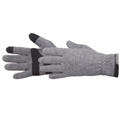 Men's Tahoe Ultra Touchtip Gloves in Oxford Heather Pair Side Profile