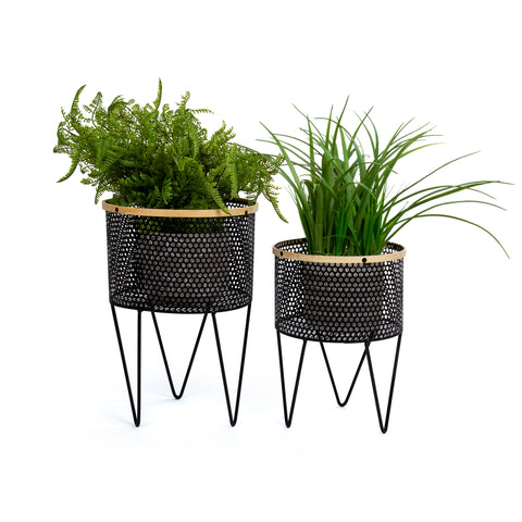 Boho Metal Wire Planter (Item 65820)