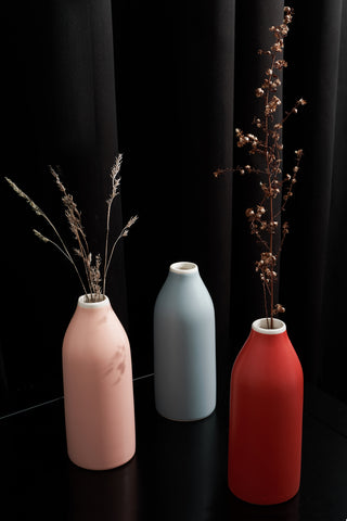 Boho Ceramic Vases (Item 65821)