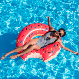 Pool Party Inflatable Donut Float
