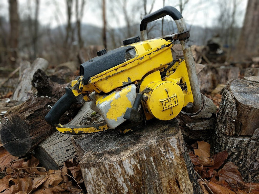 How My Interest In Chainsaws Began