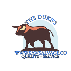 www.SawSalvage.co The Duke's Saw Salvage
