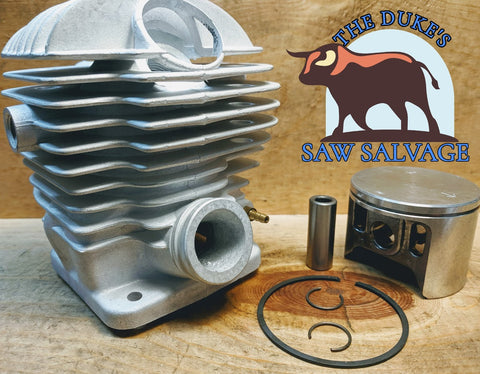 THE DUKE'S PREMIUM CHROME DOLMAR MAKITA 7900 6401 6421 CYLINDER KIT 52MM