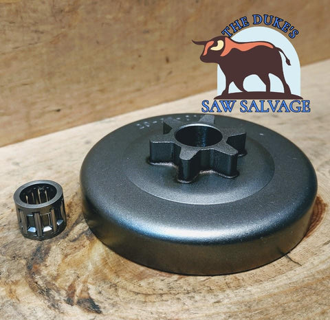 DUKE'S DOLMAR 100 102 PS-33 PS-39 PS-330 PS-340 SPUR SPROCKET 6T - www.SawSalvage.co Traverse Creek Inc.