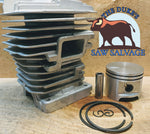 THE DUKE'S CHROME STIHL 029 MS290 PISTON AND CYLINDER KIT 1127 020 1210 46mm