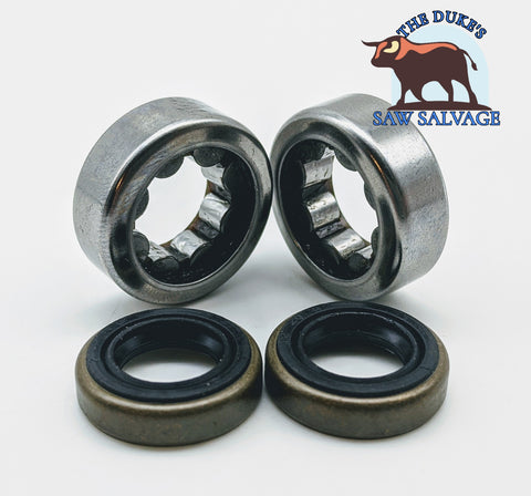 THE DUKE'S CRANK BEARINGS AND SEAL SET FITS STIHL 020T MS200T