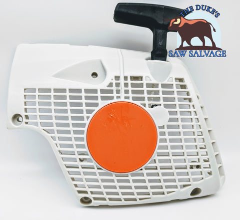 THE DUKE'S RECOIL REWIND PULL STARTER COVER FITS STIHL MS270 MS280