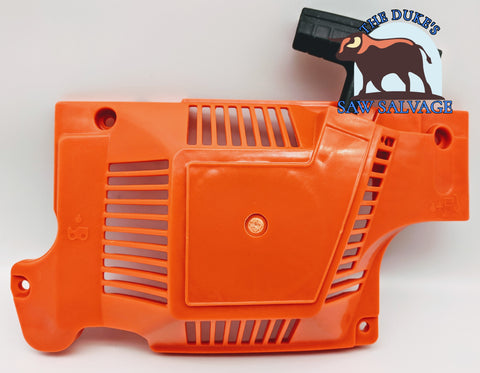 THE DUKE'S RECOIL REWIND PULL STARTER COVER FITS HUSQVARNA 51 55 RANCHER