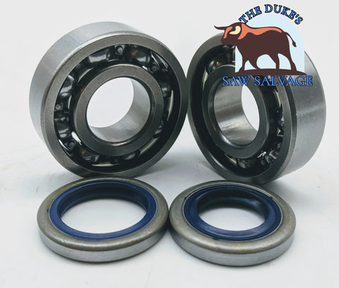 THE DUKE'S CRANK BEARING AND SEAL SET FITS HUSQVARNA 362 365 371XP 372XP HOLZFFORMA G372