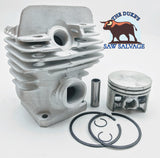 THE DUKE'S PREMIUM CHROME PLATED CYLINDER KIT FITS STIHL 026 MS260 44.7MM