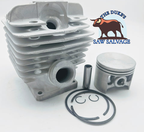 THE DUKE'S PREMIUM CHROME PLATED CYLINDER KIT FITS STIHL 034 036 MS360 48MM